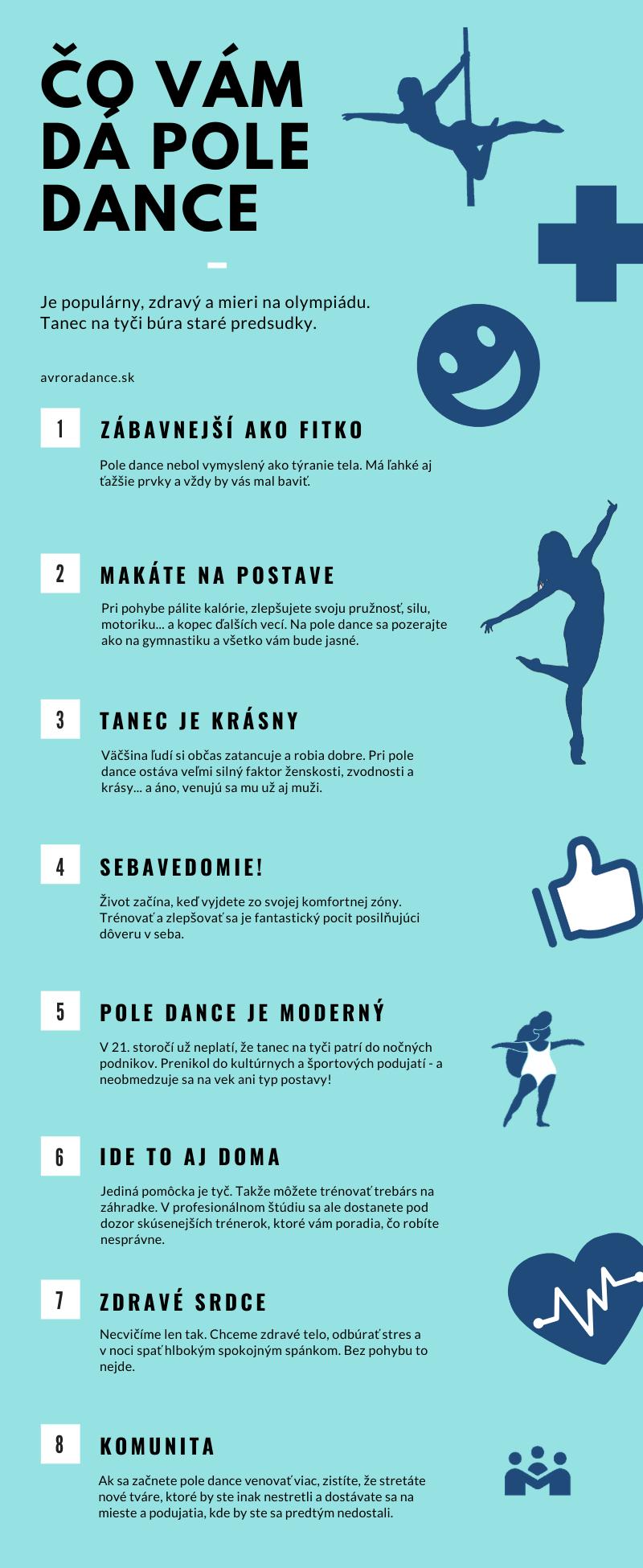 Pole dance výhody